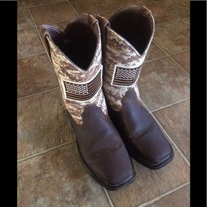Ariat WorkHog Patriot Boots